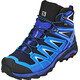 Salomon X Ultra 3 GTX Mid Hiking Shoes Men Navy Blazer/Indigo Bunting/Pearl Blue